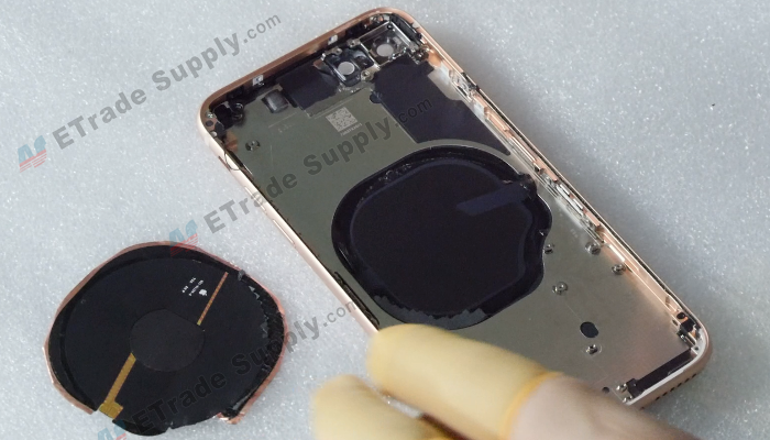 33 Wireless charging coil is separated