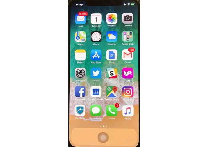 Virtual home button on screen