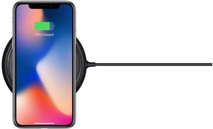 wireless charging iPhone X