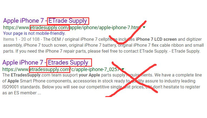 Real or Fake ETrade Supply? Here Is How To Identify It