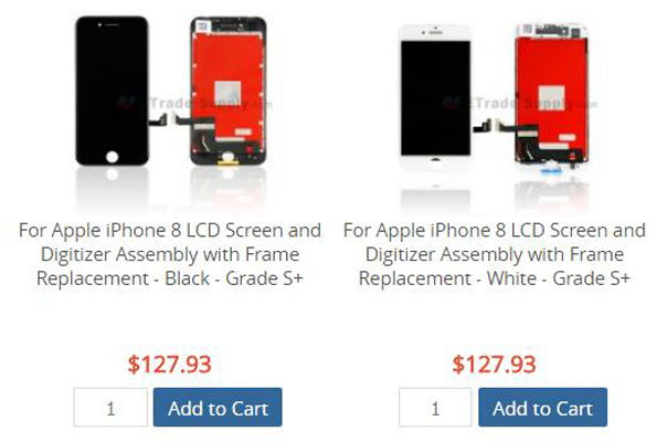 iPhone 8 OEM LCD screen replacement
