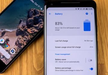 Google Pixel 2 battery life
