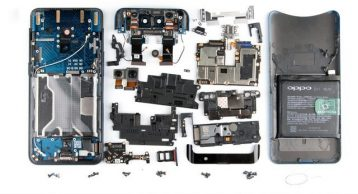 here is all parts of the oppo find x