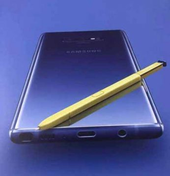 Samsung Galaxy Note 9 image leaks