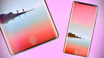 Sasmung Galaxy Note 9 with inscreen fingerprint
