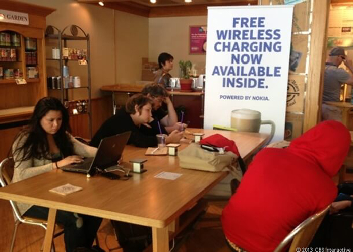 coffee house wireless charging table-4