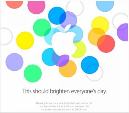 Apple 2013 special event