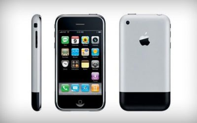 First iPhone - iPhone 1