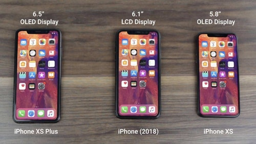 2018 new iPhones