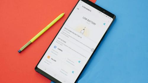 4. Change S Pen control Apps