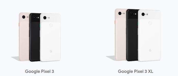 Google Pixel 3&3XL