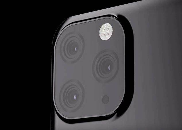 iPhone XI triple cameras setting