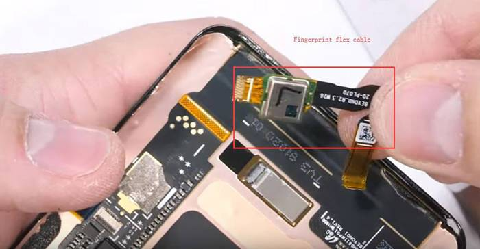 Samsung Galaxy S10 fingerprint cable