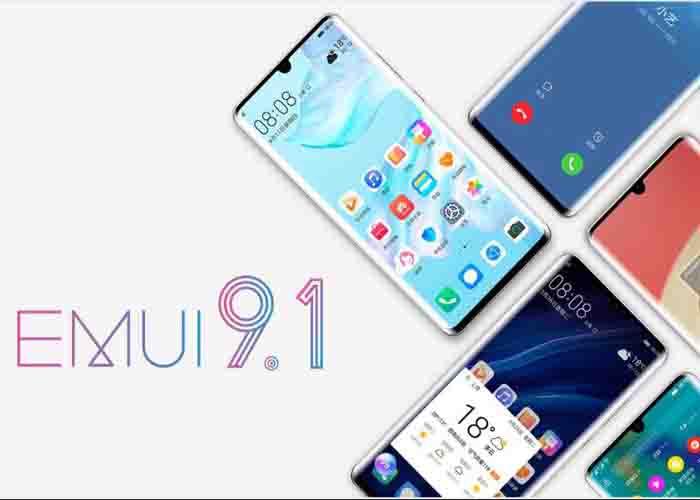 Huawei Mate 30 EMUI 9.1
