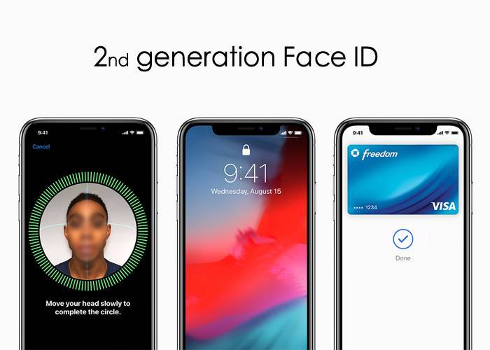 2ed gneration face ID