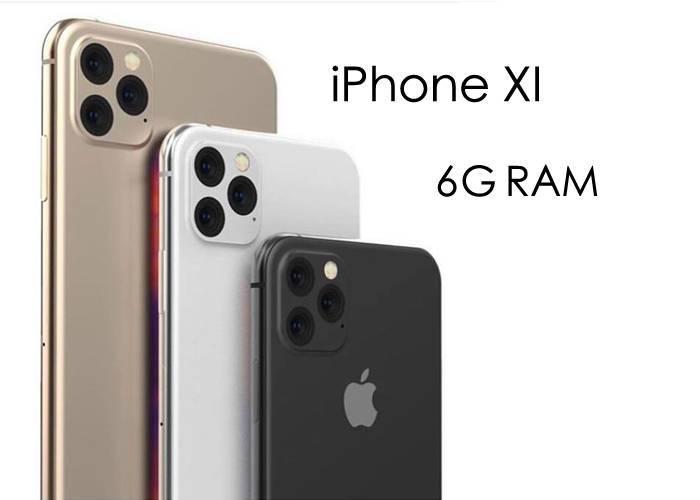 iPhone XI 6G RAM