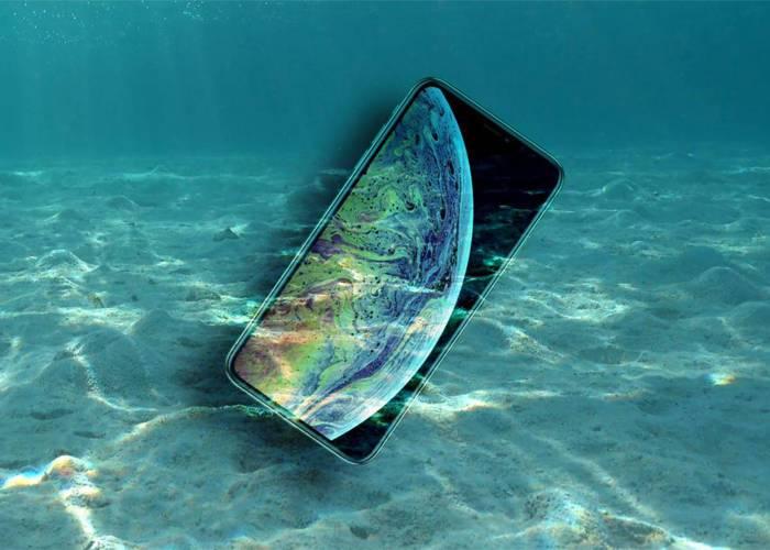 iPhone XI underwater mood