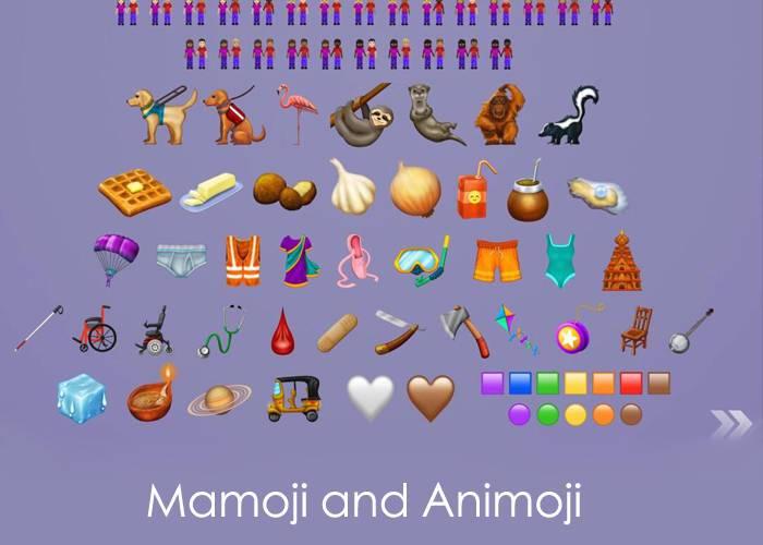 mamoji and animoji