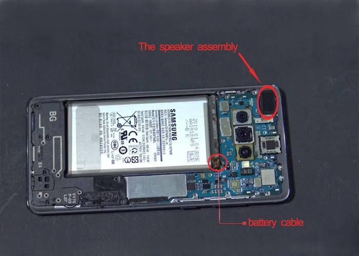 connect the battery cable to the main board and restore the battery