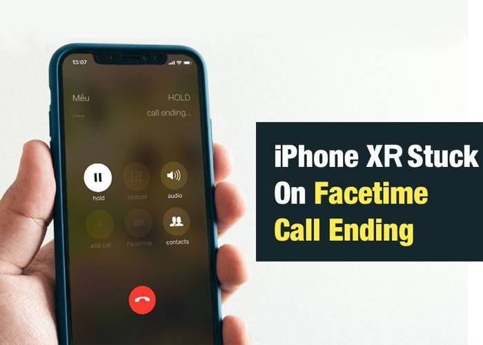 iPhone XR FaceTime problem