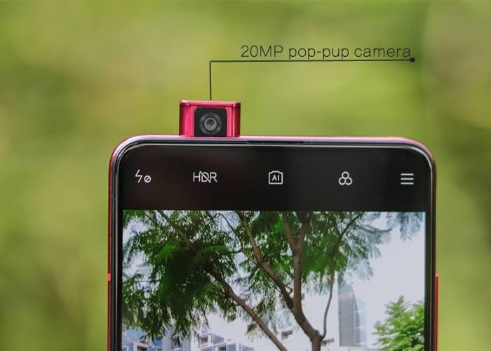 Redmi K20 pop-pup camera