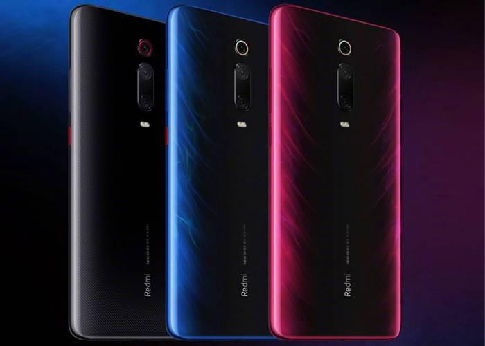 Redmi K20 three external colors