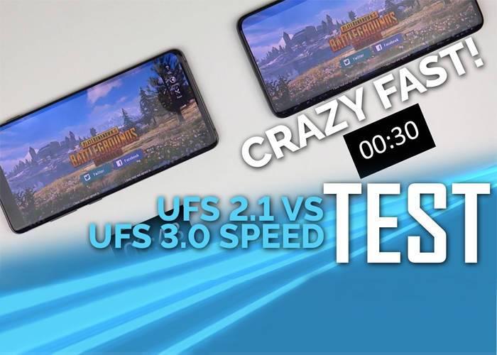 Samsung Note 10 UFS 3.0 fast storage