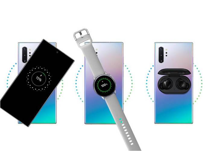 Samsung Note 10 wireless powershare