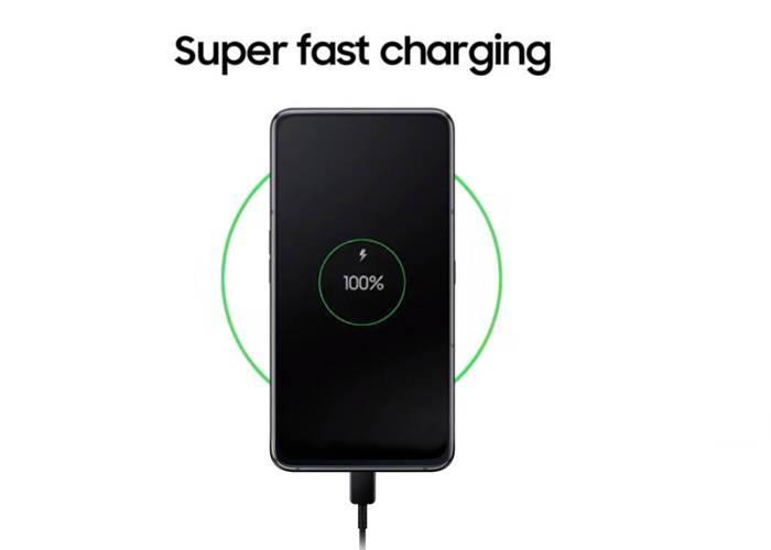 Samsung Galaxy A80 fast charging