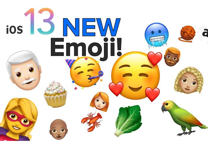 iOS 13 new emoji