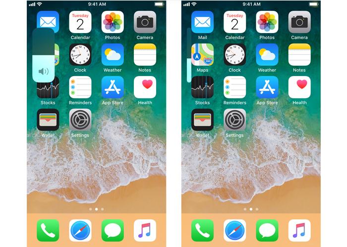 iOS 13 volume HUD
