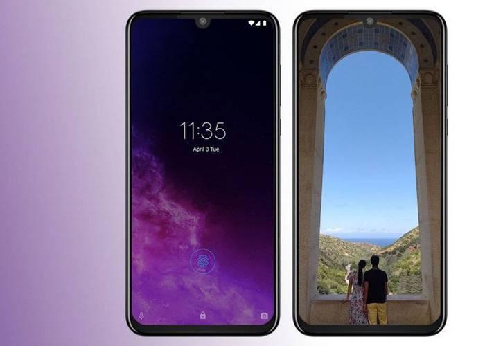 Motorola One Zoom 6.4 OLED display screen