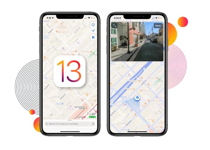 iOS 13 new map app