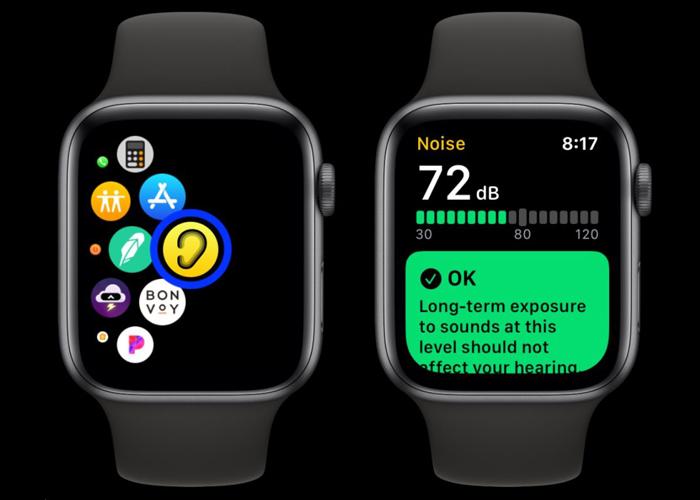 Noise App on Apple Watch 5