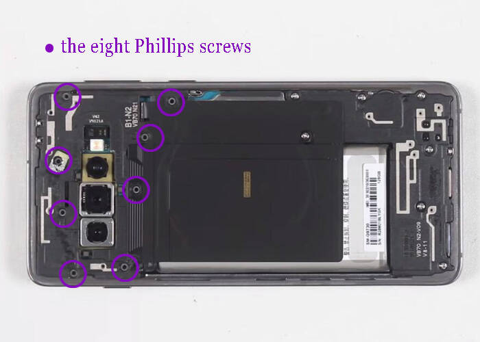 Fixing the wireless charging coil