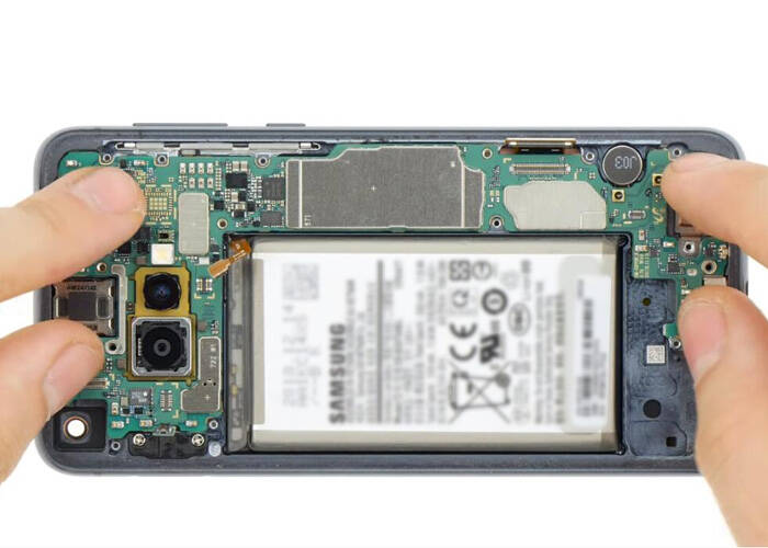 Install the mainboard back to the device