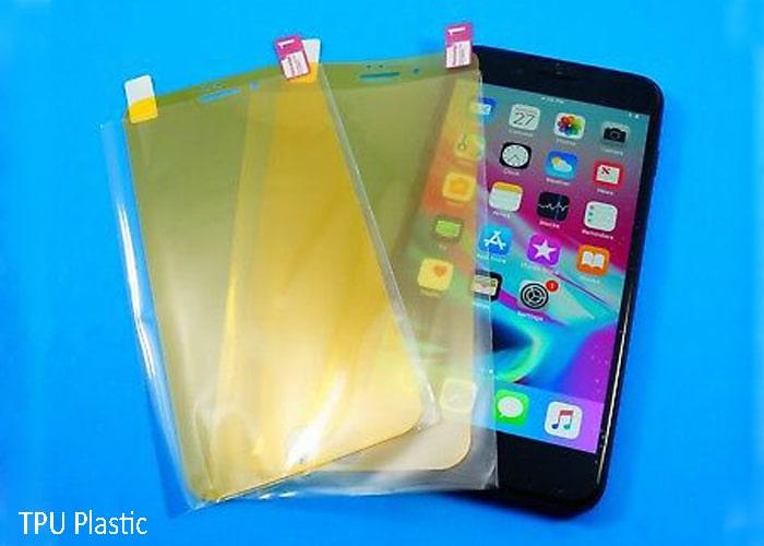 TPU plastic screen protector-etradesupply.com