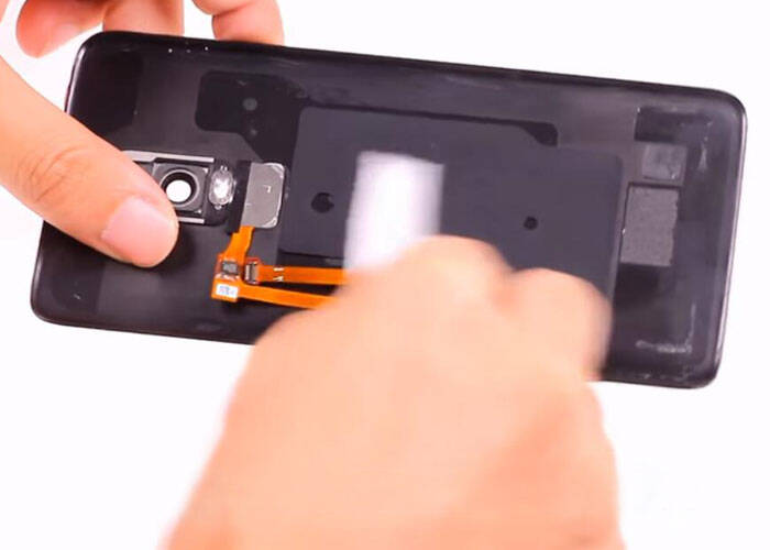 Use alcohol to clean the battery door