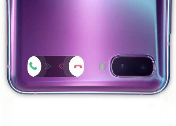 mini screen answer phone calls