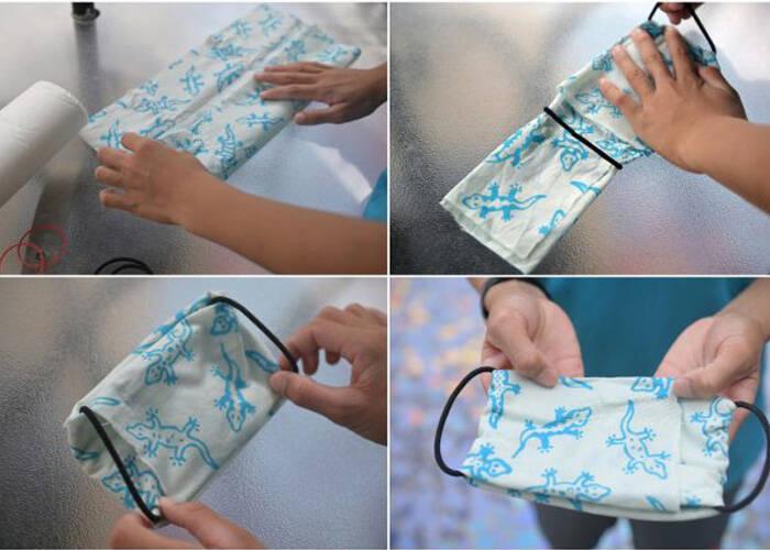 How to make bandana face mask