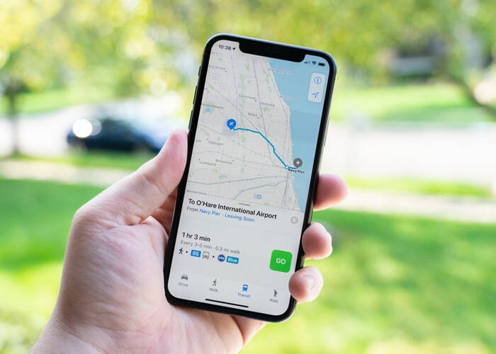 iOS 14 Map