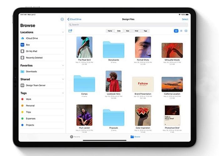 iPadOS 13 photo app