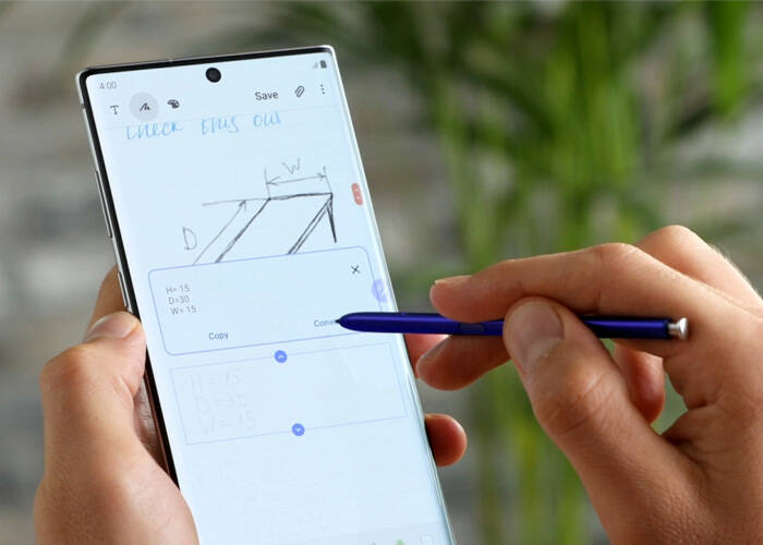 Samsung Note 20 Ultra S Pen