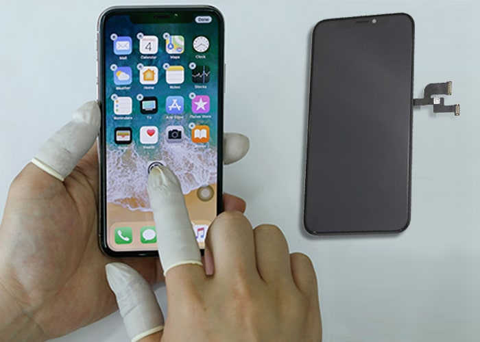 Test iPhone X aftermarket screen