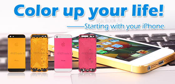 Color up your life, Start with your iPhone