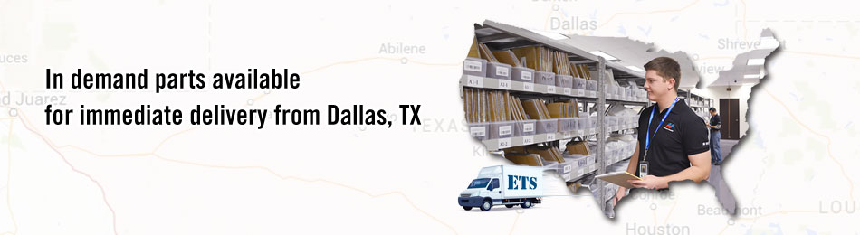 in demand parts available for immdediate delivery from Dallas,TX