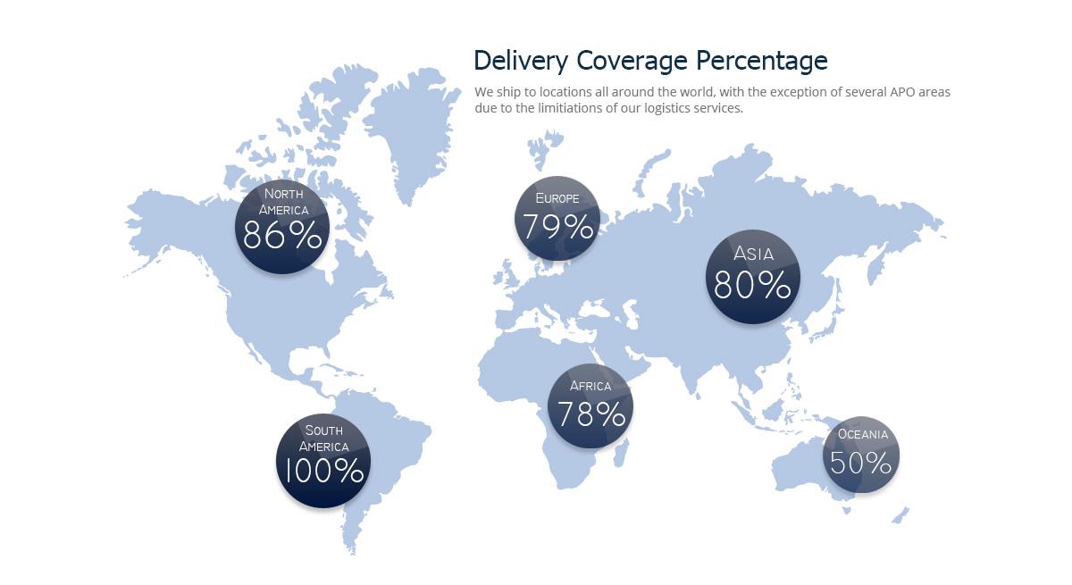shipping globalmap